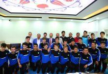 Başkan Çamyar, Şampiyon Takımı Ağırladı