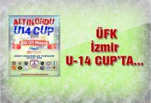 Ünye Futbol Kulübü İzmir U-14 Cup'ta…