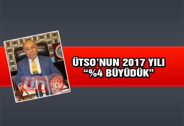 ÜTSO'nun Artısı Eksisiyle 2017 Yılı