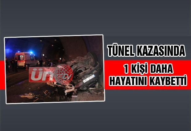 Tünel Kazasında Ölü Sayısı 2'ye Yükseldi