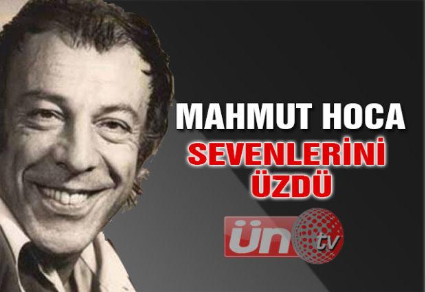 Mahmut Hoca Sevenlerini Üzdü!