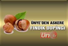 Ünye'den Afrin Kahramanlarına Fındık Dopingi!
