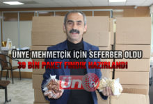 Mehmetçik İçin 30 Bin Paket Fındık Toplandı