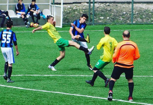 Ünye Futbol Kulübü Dolu Dizgin! 2-5