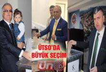 ÜTSO'da 3 adaylı Seçim