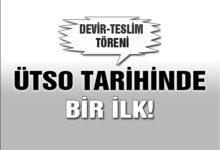 ÜTSO'da Devir-Teslim Töreni