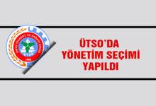 ÜTSO'da Yönetim Seçimi Yapıldı
