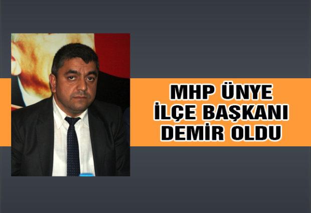 MHP'de Başkan Demir Oldu