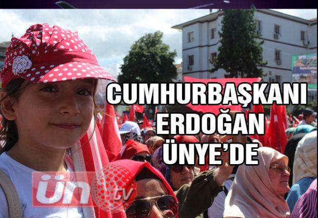 Cumhurbaşkanı Erdoğan Ünye'de Konuştu