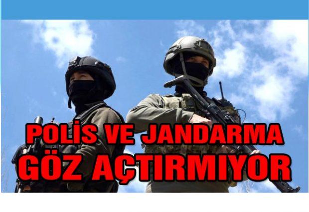 Polis ve Jandarma'dan Trafik Denetimi