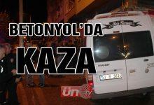 Betonyol'da Kaza