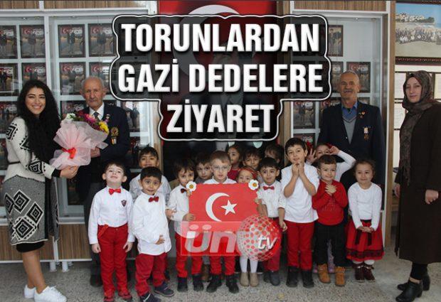 Torunlardan Gazi Dedelere Ziyaret!