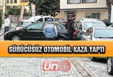 Sürücüsüz Otomobil Kaza Yaptı!