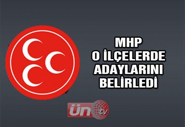 MHP o İlçelerde Adaylarını Belirledi