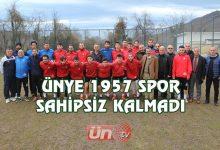 Ünye 1957 Spor Sahipsiz Kalmadı!