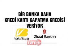 Vakıf Bank da Açıkladı