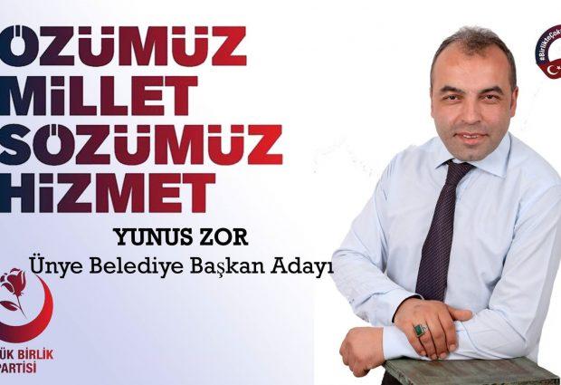 BBP ÜNYE'DE ZOR DEDİ