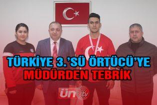 Türkiye 3.'sü Örtücü'den Ziyaret