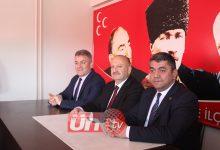Tavlı'dan MHP'ye Ziyaret!