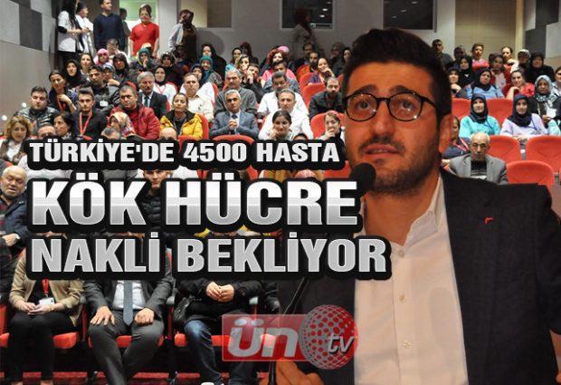 Türkiye'de 4500 Hasta Kök Hücre Nakli Bekliyor