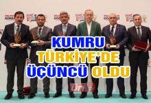 Kumru Türkiye'de 3. Oldu