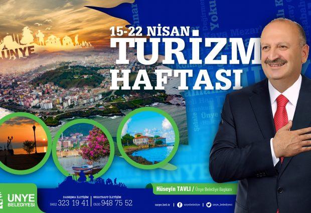"""Başkan Tavlı, """"Ünye Turizm'de İvmesini Her Geçen Yıl Arttırıyor"""""""