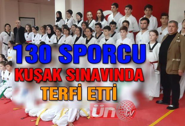 130 Sporcu Terfi Etti!