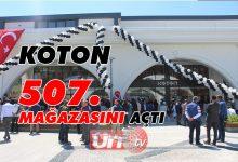 Koton 507. Mağazasını 15 Temmuz Meydanına Açtı