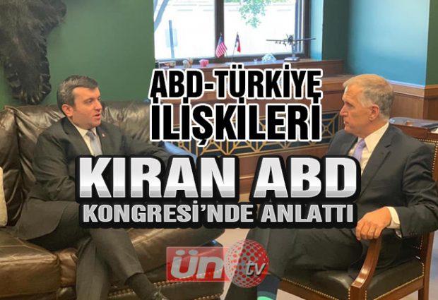 Kıran, Türkiye'nin Görüşlerini ABD'de Anlattı