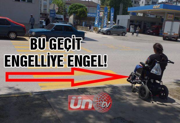 Yaya Geçidi Var, Engelli Rampası Yok!