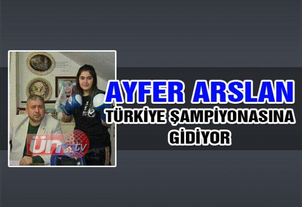 Ayfer Arslan Türkiye Şampiyonası Yolunda!