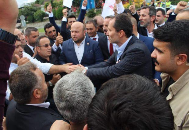 Genel Başkan Erbakan Ünye'de Karşılandı!
