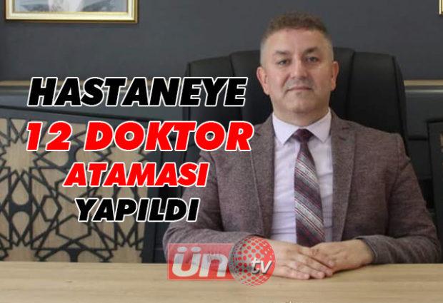 Ünye'ye 12 Doktor Ataması Yapıldı