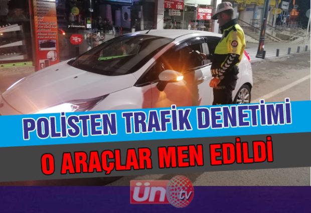 Polis'ten Trafik Denetimi!