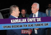 """Kamalak, """"Oyunu Bozacak Olan Türkiye'dir"""""""