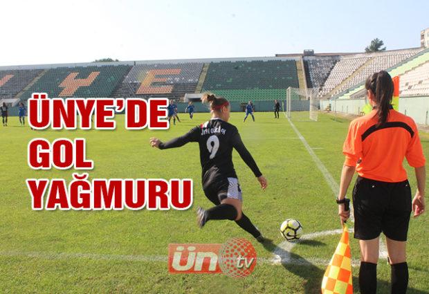 Ünye Gücü FK'den Gol Yağmuru!