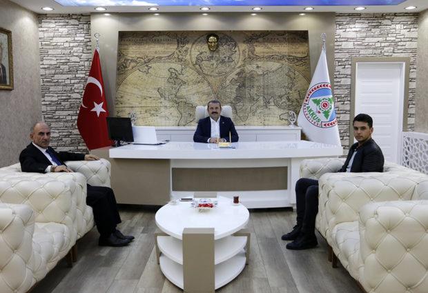 Başkan Demirci'den TMO'ya Teşekkür