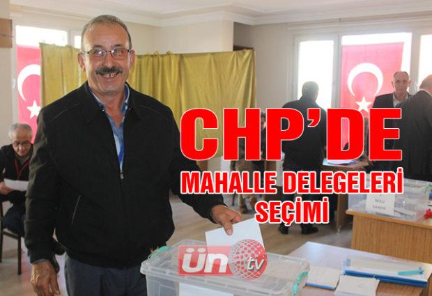 CHP'de Mahalle Delegeleri Seçiliyor