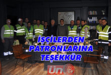 Ünye Maden İşçilerinden Teşekkür
