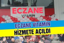 Vitamin Eczanesi Hizmete Açıldı