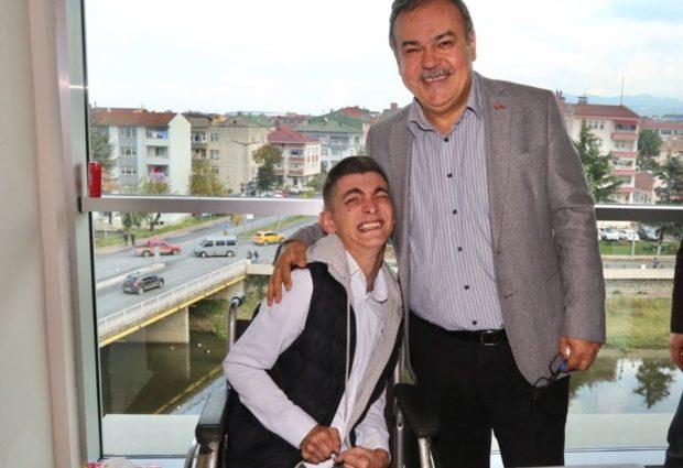 Başkan Tomakin; Engelli Haklarında Devrim Yaptık Engelleri Kaldırdık