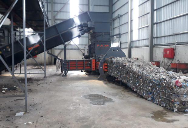 Ünye Çöp Ayrıştırma Tesisi Çalışmaya Başladı