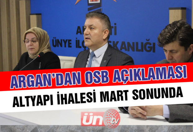 OSB İhalesi Mart Sonunda