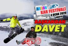 Akkuş'ta Kar Festivali!