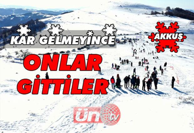 Kayak Severler Argan'a Akın Etti