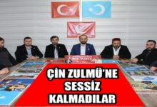 Yeniden Refah Partisi Zulme Sessiz Kalmadı!