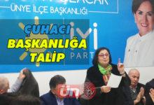 Başkanlığa Kadın Aday Talip!