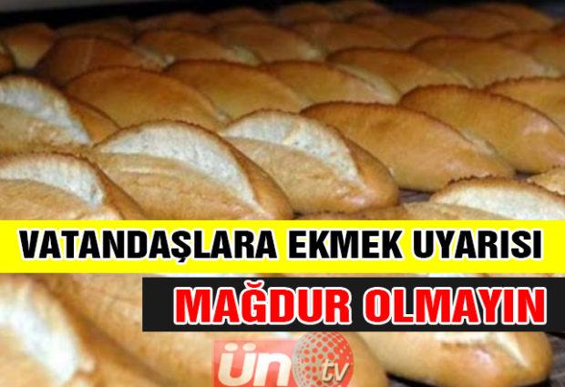 Başkan Yüksel'den Ekmek Uyarısı!