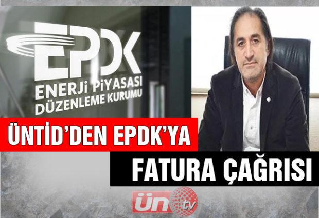 ÜNTİD'den EPDK'ya Çağrı!